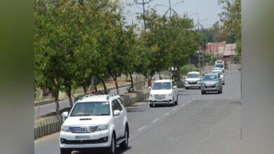 Photo of इस बीजेपी सांसद की सुरक्षा में बड़ी चूक, 8 KM तक दूसरी गाड़ी को पुलिस ने किया एस्कॉर्ट…14 पुलिसकर्मी सस्पेंड