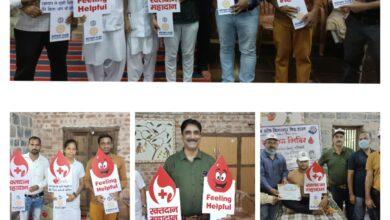 Photo of जन सहयोग स्वास्थ्य केंद्र गनियारी में वृहद रक्तदान शिविर का आयोजन…..अध्यक्ष रूपेश ने किया रक्तदान